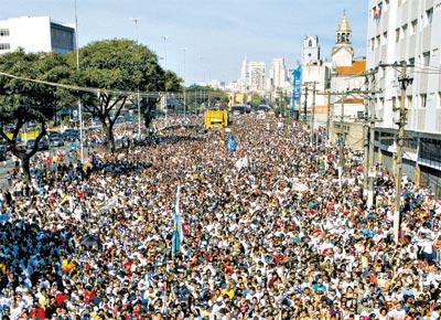 Marcha para Jesus Rio de Janeiro 2012