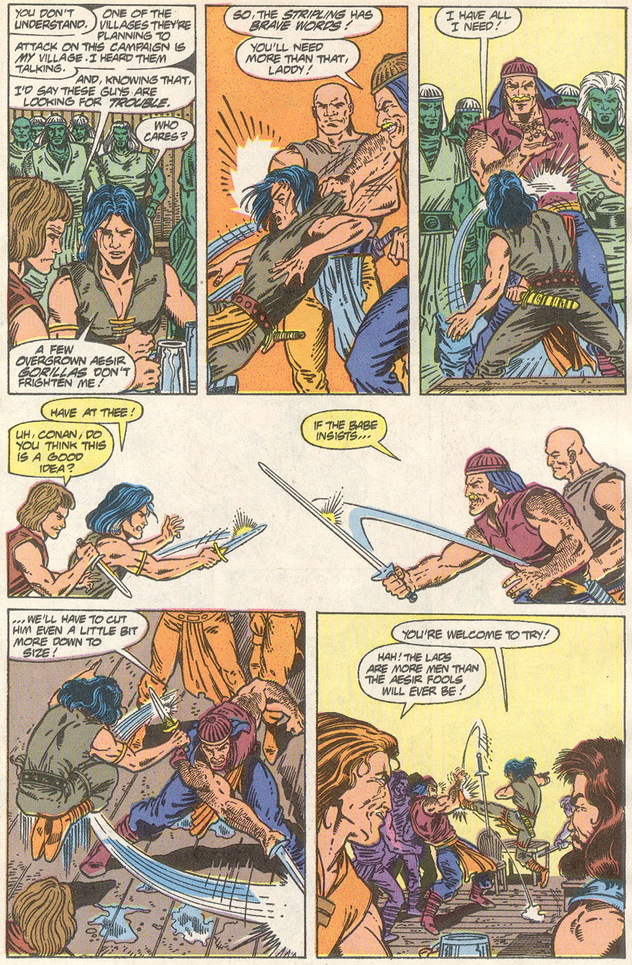 Conan the Barbarian (1970) Issue #233 #245 - English 16
