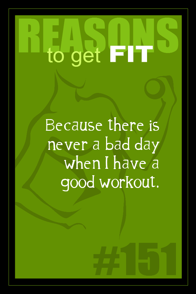 365 Reasons to Get Fit #151