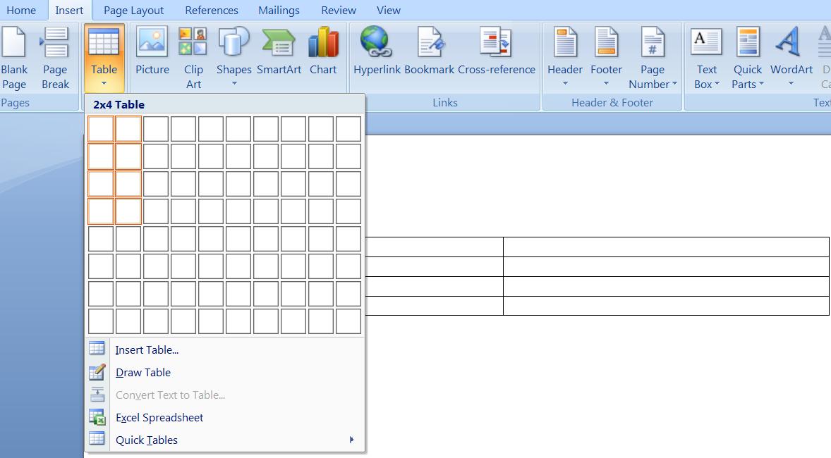Cara Membuat Tabel di Posting Blog dengan MS. Word | Super
