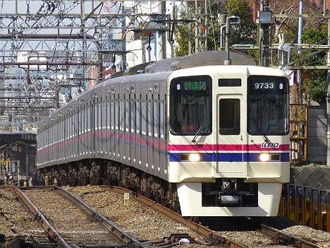京王電鉄 急行 新線新宿行き8 9000系・9030系新LED