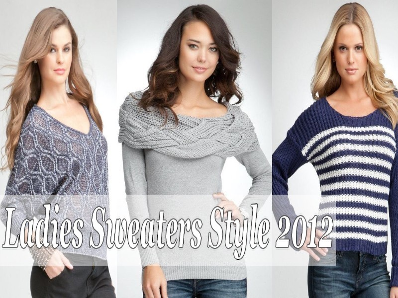 Bebe Ladies Sweaters Style 2012 Stylish Womens Sweaters
