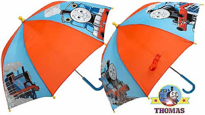 New stylish clothing Thomas and his friends raincoats umbrella set vibrantly designed of robustness