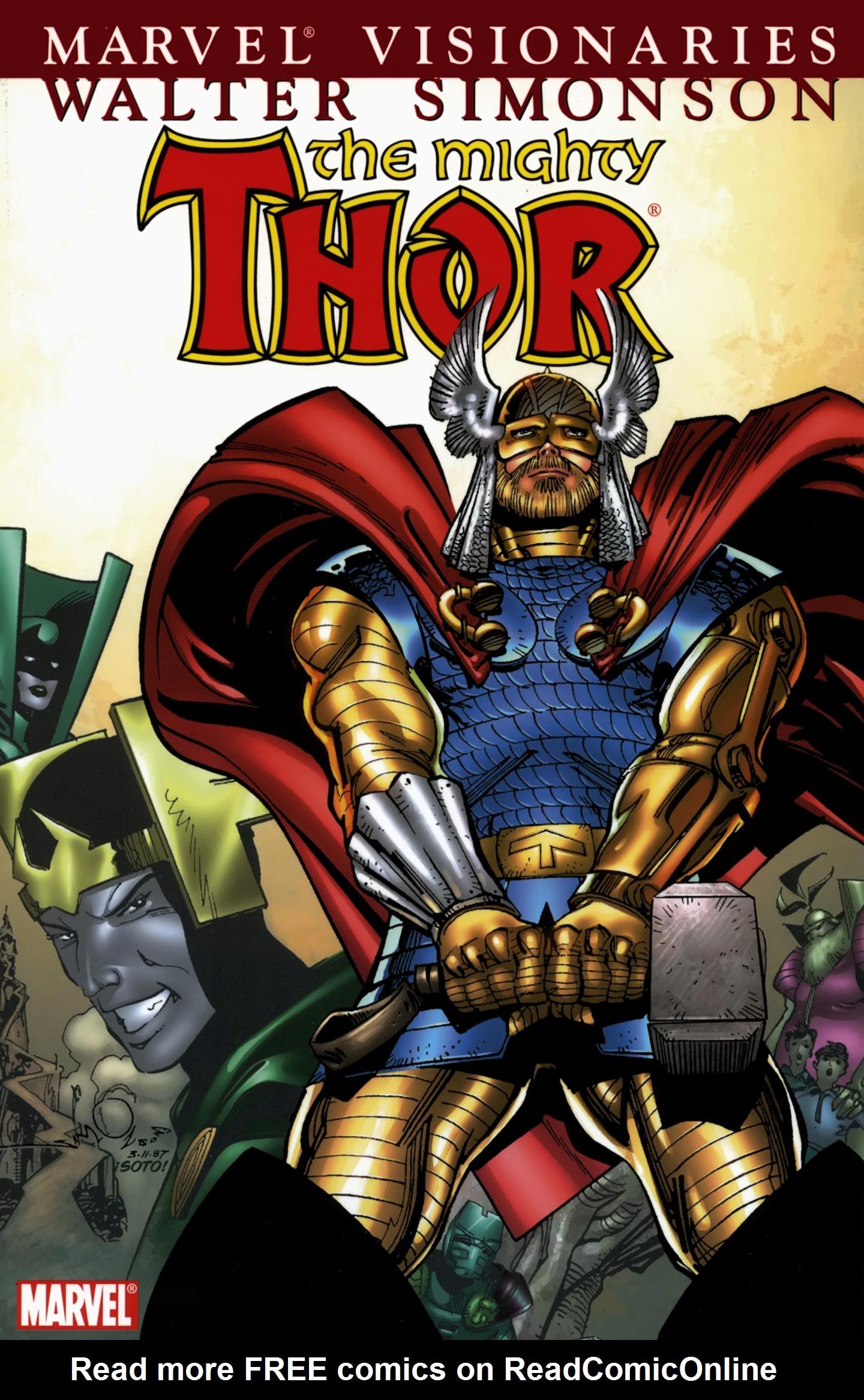 Thor Visionaries: Walter Simonson TPB_5 Page 1