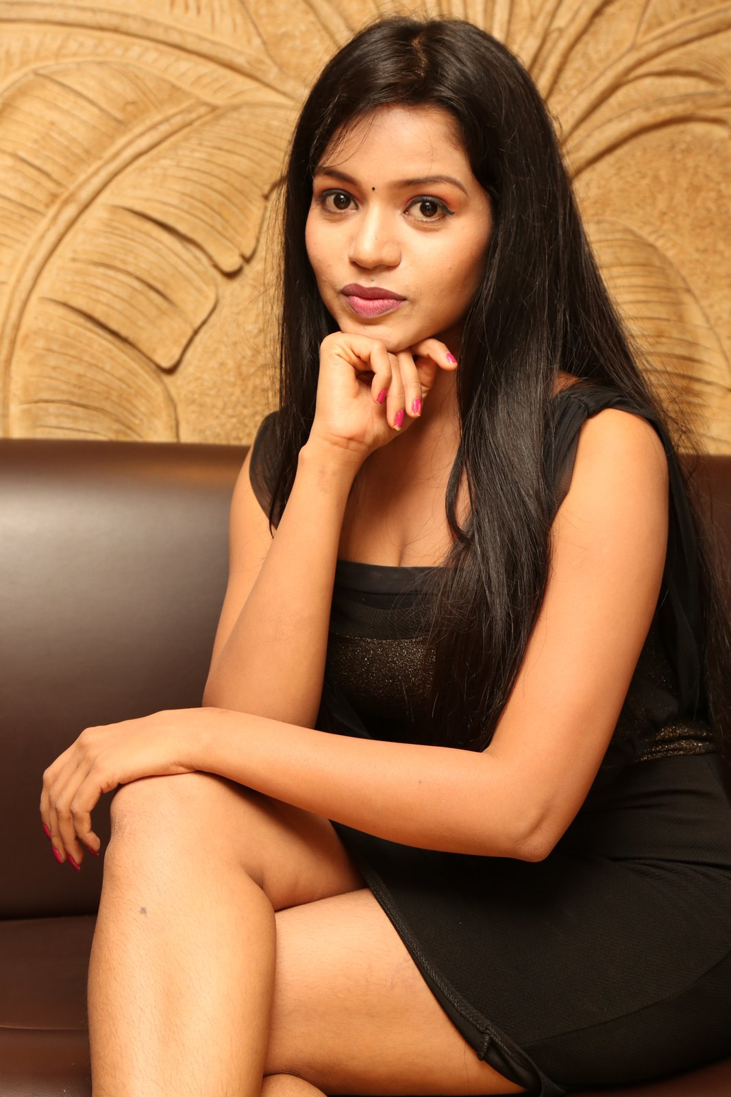 Bhavya sri New glam photo shoot-HQ-Photo-9