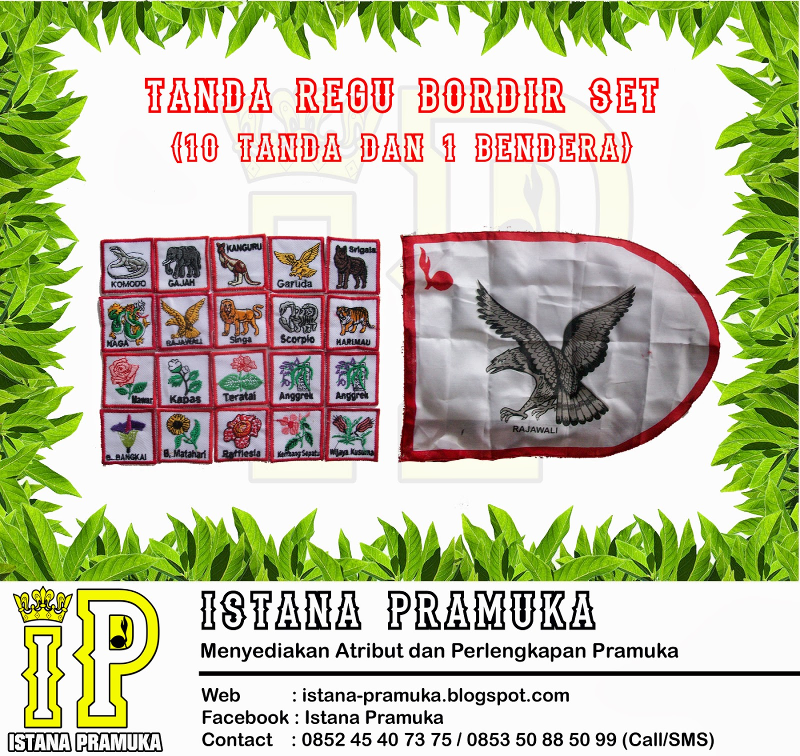 Istana Pramuka March 2014 Aneka Badge Regu Penggalang Produk Tanda Satuan
