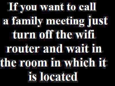 turn off the wifi