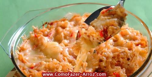 Receitas de arroz de forno