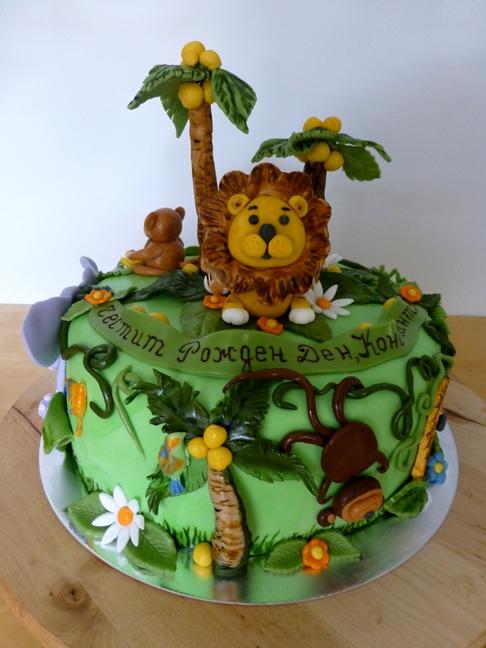 CakeSophia Lion cake