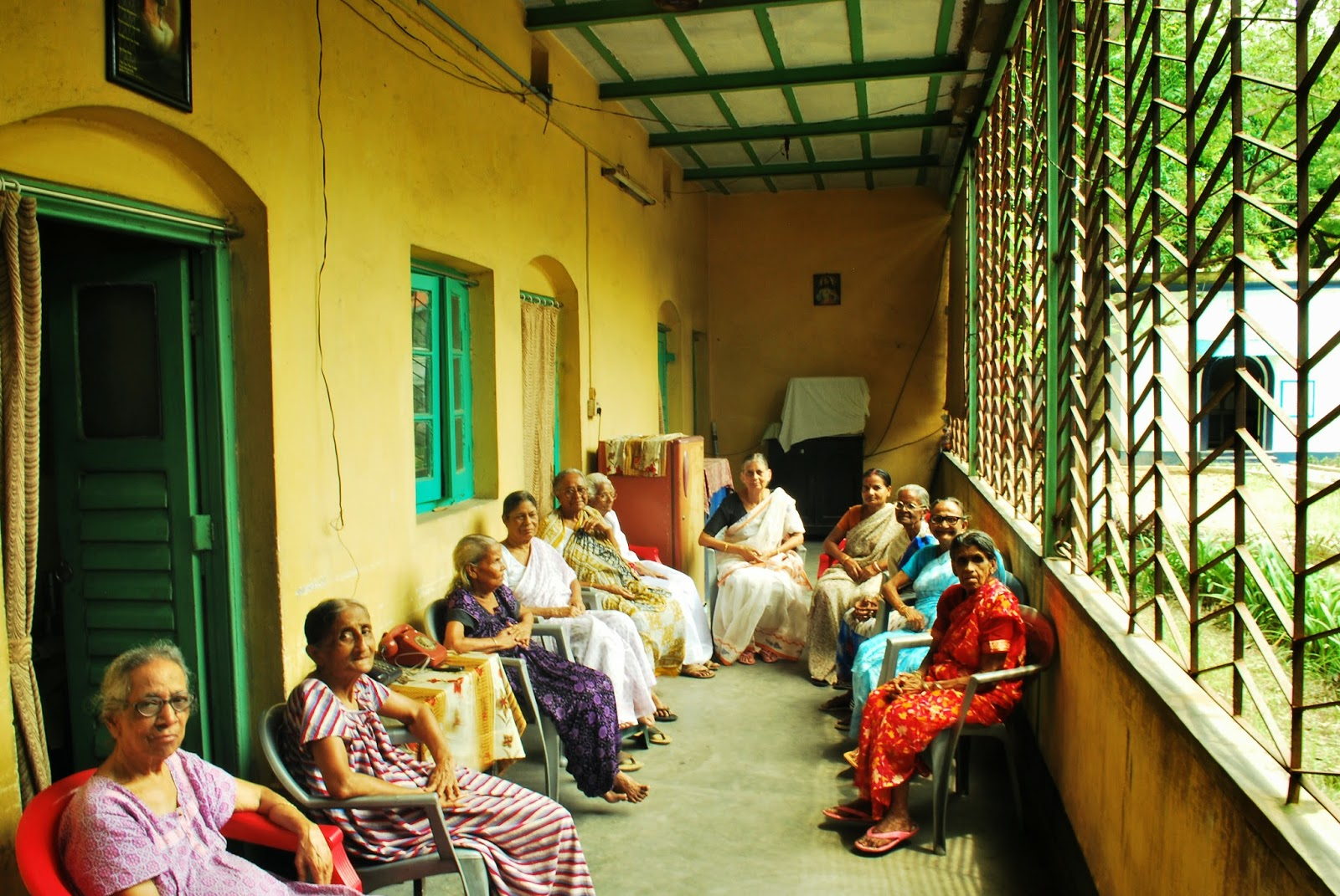 Mulvany House, the old age home near Sealdah, Kolkata