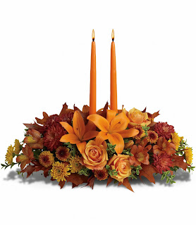 Send the Teleflora Family Gathering Centerpiece for Thanksgiving