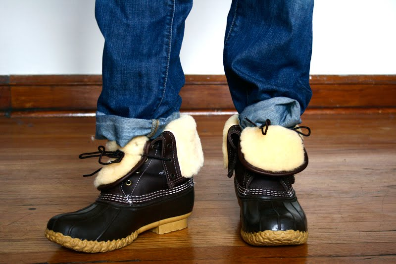 The Midwestyle Favorite Shearling Lined Bean Boots