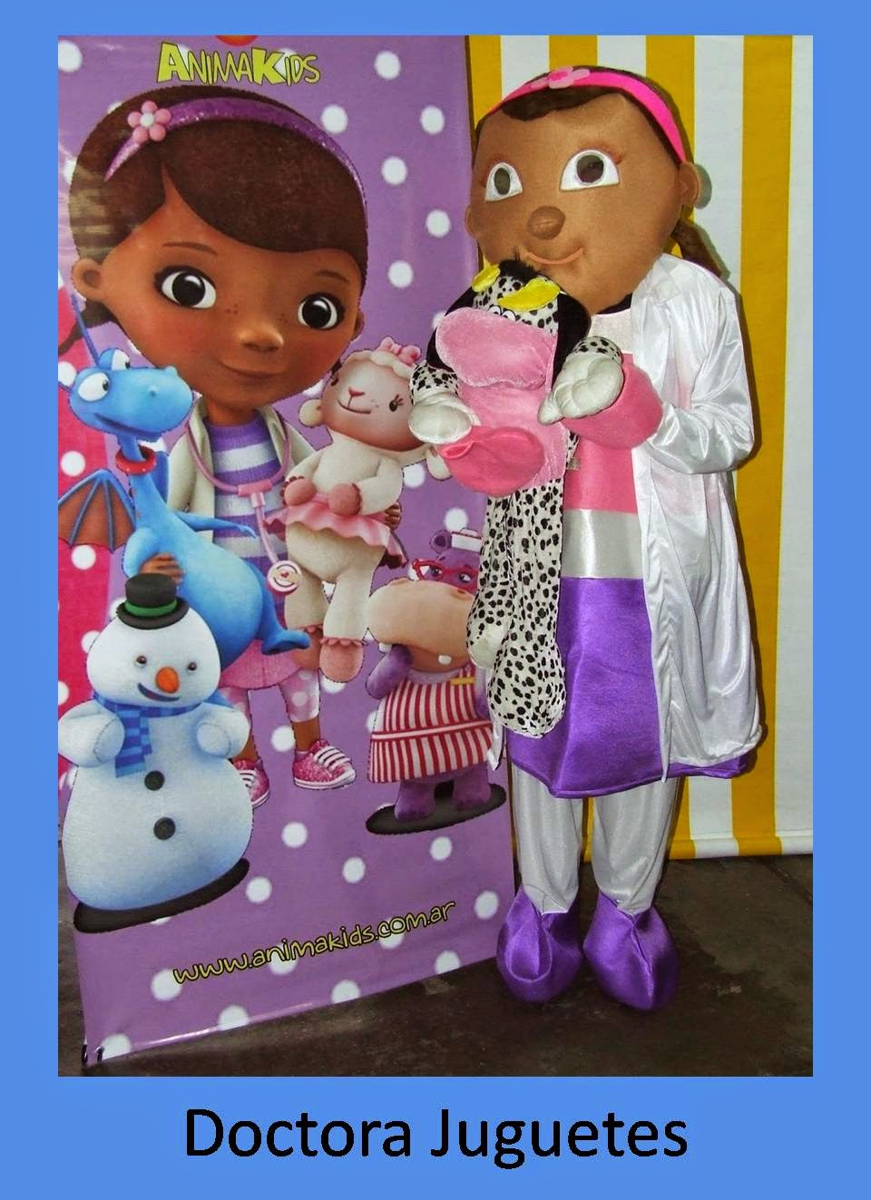animacion doctora juguetes