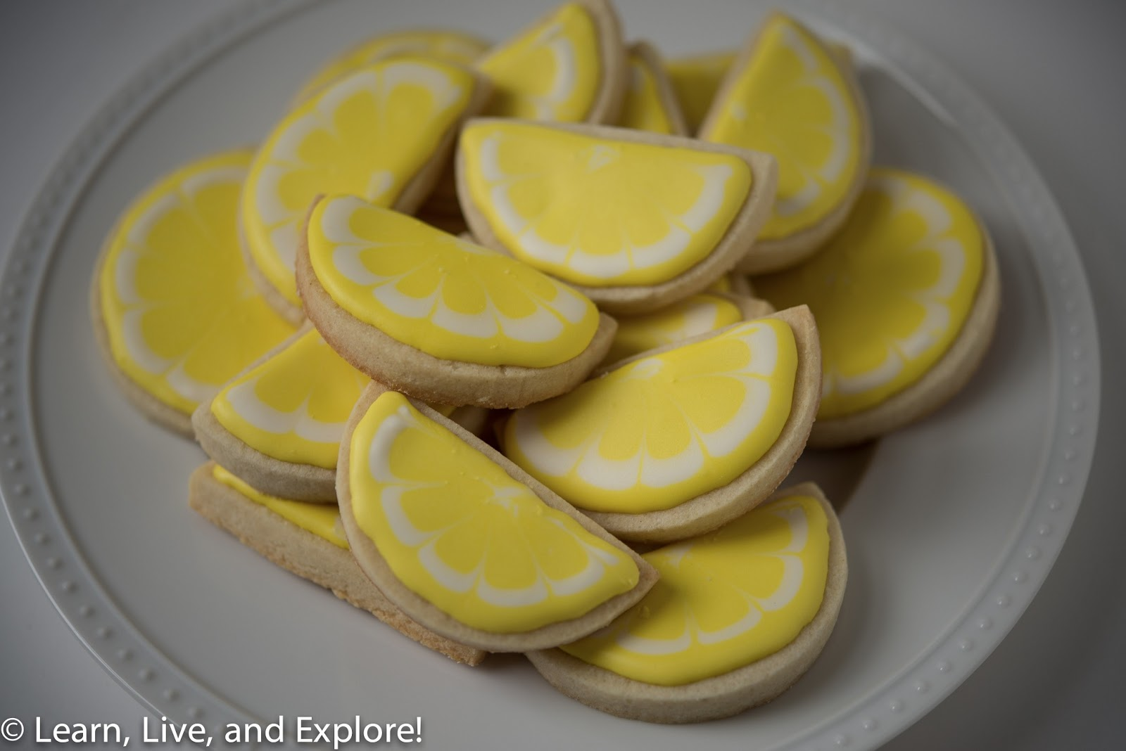 Lemon Slice Cookies....For When Life Gives You Lemons ~ Learn, Live ...