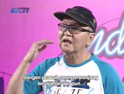 Om Felix Maringka -  Audisi Tertua Dalam Idol 2012