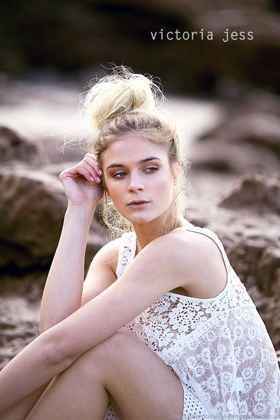 Blusas y tops primavera verano 2016 ropa de moda Victoria Jess.