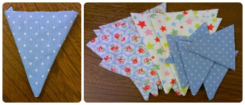 craftypainter: bunting flags