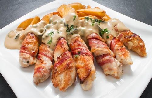 Pechuga de pollo al horno - COCINA-CASERACOM