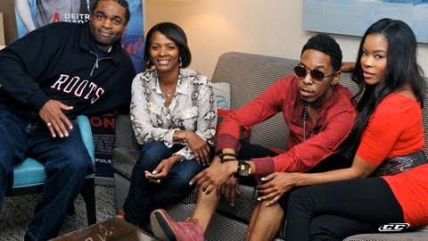 Deitrick Haddon - A Beautiful Soul 2012 on the sets live