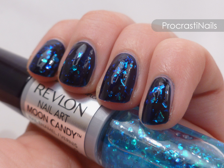ProcrastiNails: Swatch-It Sunday: Revlon Moon Candy in Galactic