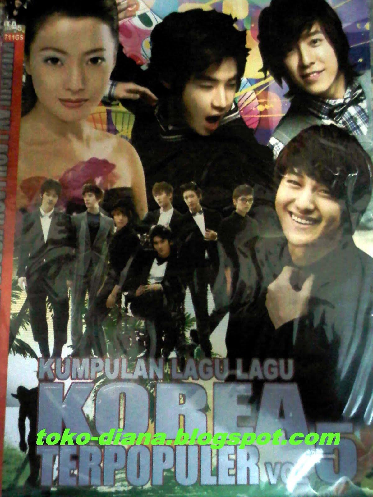 Kumpulan Lagu2 Korea Terpopuler Vol 4, 5, 6, 7