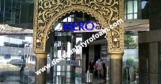 Dekorasi styrofoam gate hero for Dekorasi lebaran hotel