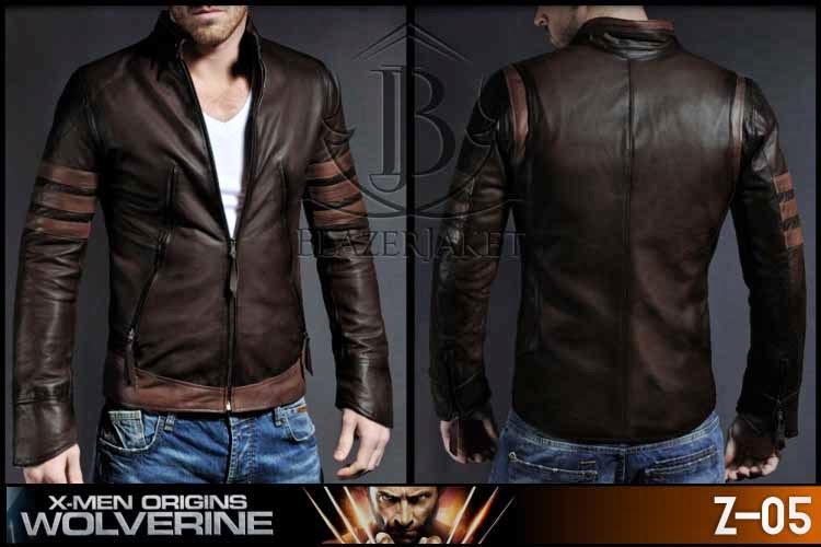Jaket Kulit X-Men Origins - Wolverine blazerjaket blazer korea