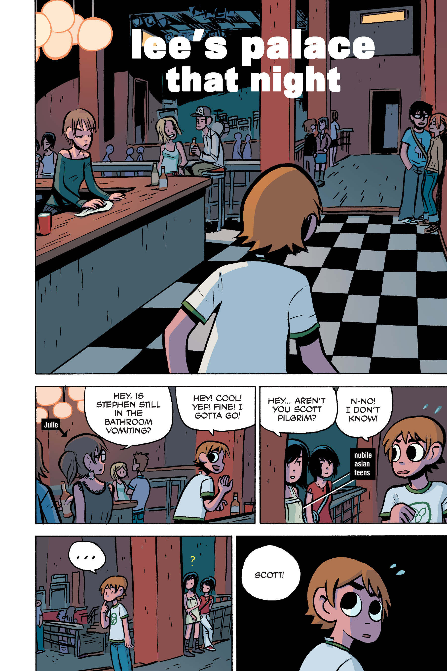 Read online Scott Pilgrim comic -  Issue #3 - 99
