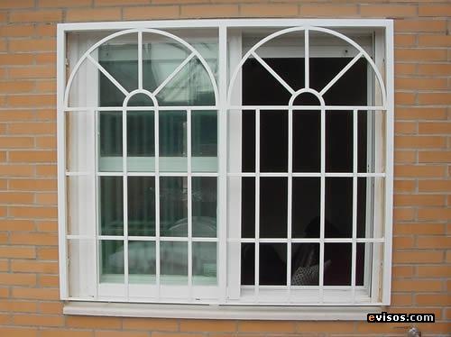 Taller de soldadura castillo ventana francesa con arco for Ventanas modelos
