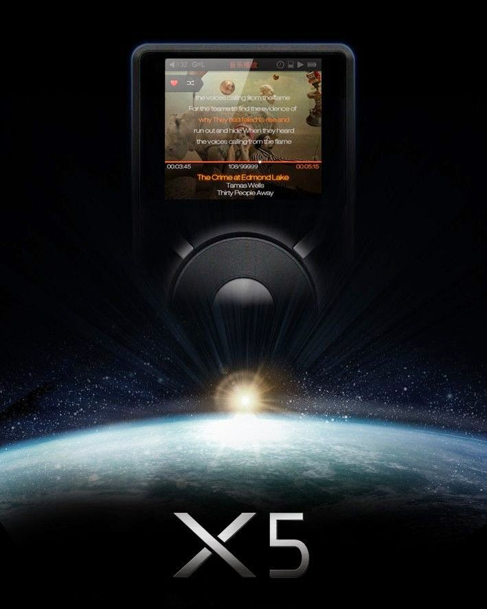 Poster Fiio X5