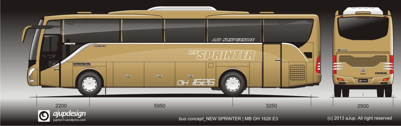 Design Bus Jetbus New Sprinter Terbaru KAROSERI INDONESIA