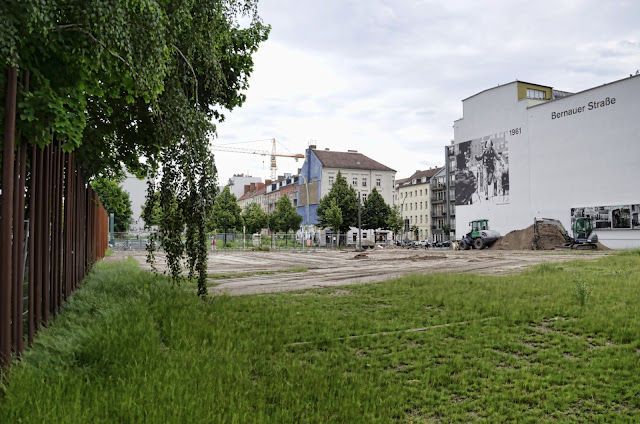 Baustelle Gedenkstätte Berliner Mauer, Bernauer Straße 111, 13355 Berlin, 15.06.2013
