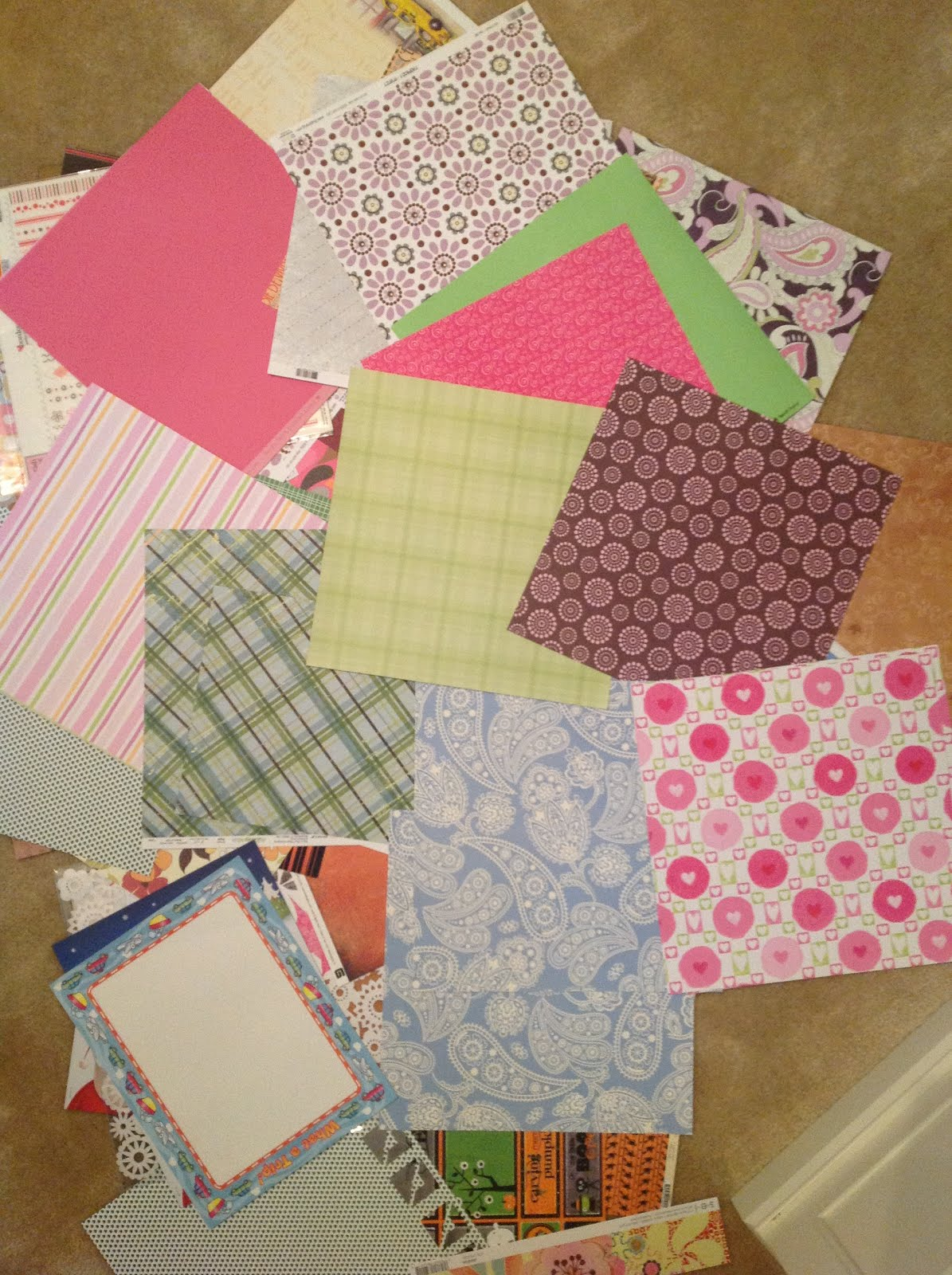 o is for organize decorative file folders