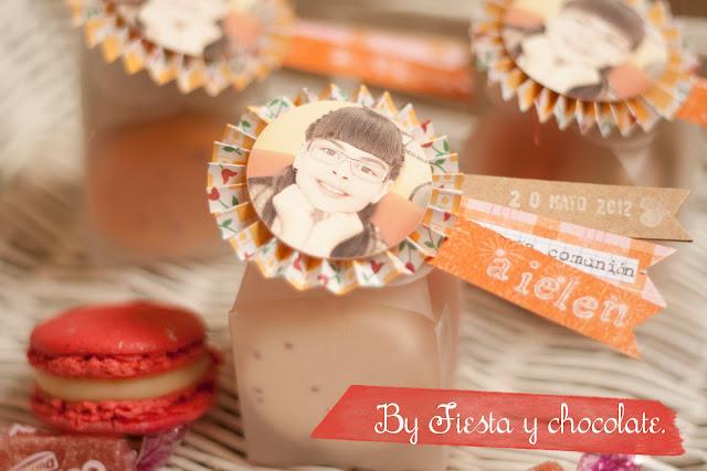 Macarons detalle comunión, bautizos, bodas by Fiesta y chocolate