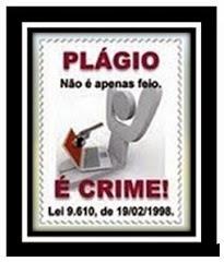 PLÁGIO É CRIME