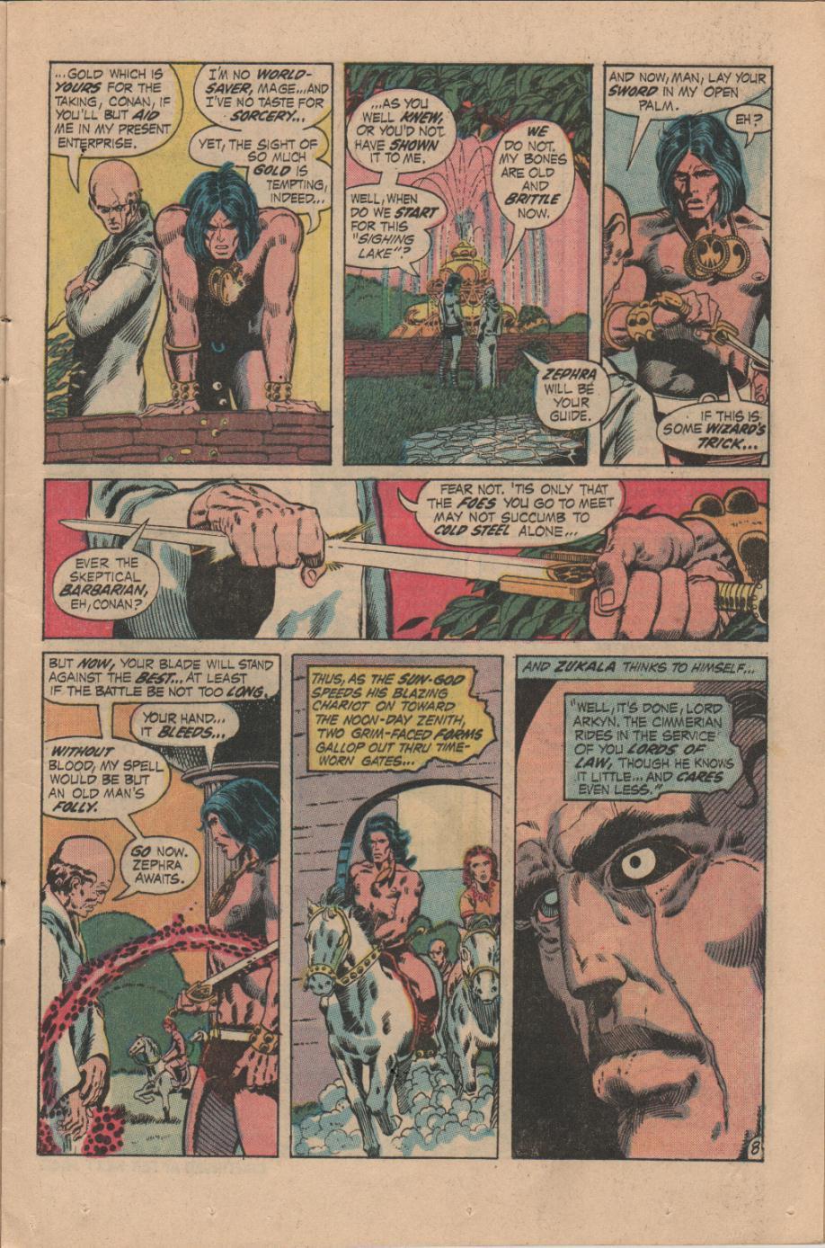 Conan the Barbarian (1970) Issue #14 #26 - English 9