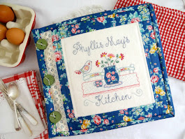 PHYLLIS MAY'S KITCHEN - large memory book with pockets