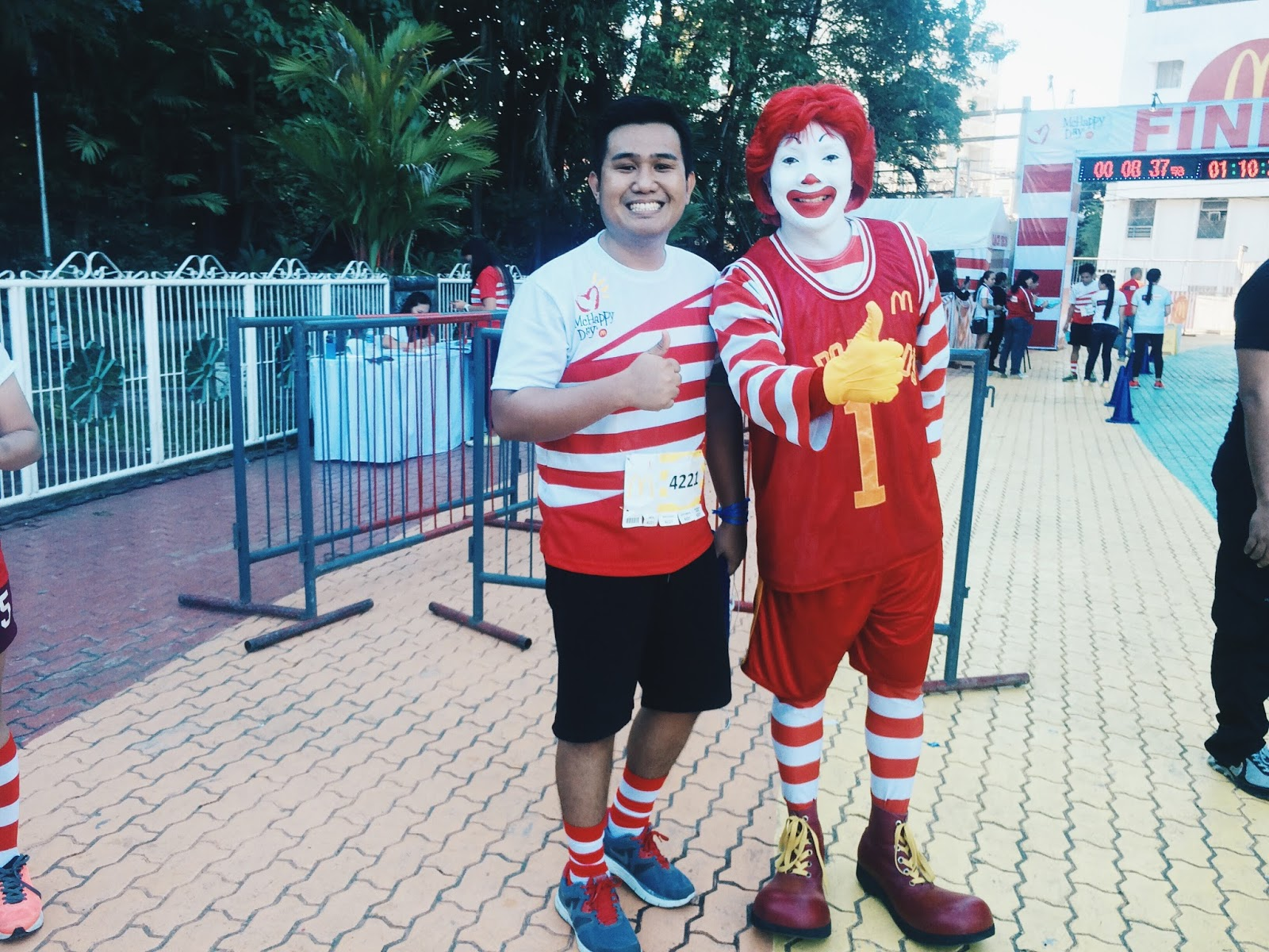 McHappy Stripes Run in Davao