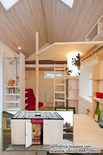 Dormitorio casa for Dormitorios estudiantes decoracion