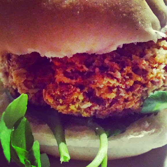 Indian Dahl Pumpkin Burgers