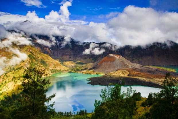 Taman Nasional Gunung Rinjani yang indah dan menakjubkan