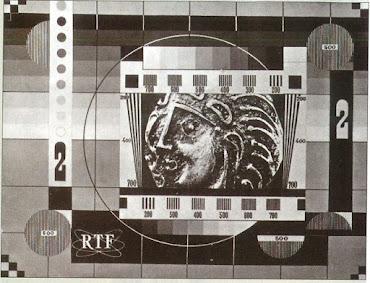 Mire 2éme chaîne de la RTF en 1964