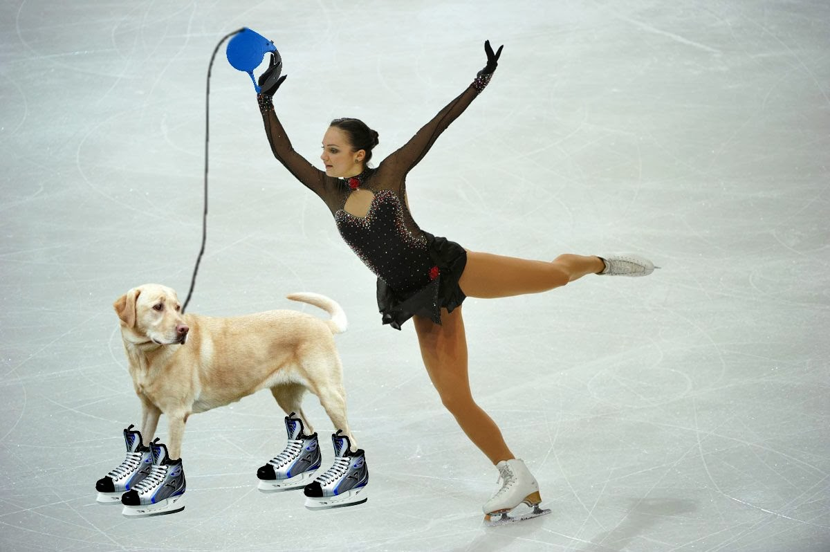Slepi Drsalka - Blind Ice Skater from Slovenia