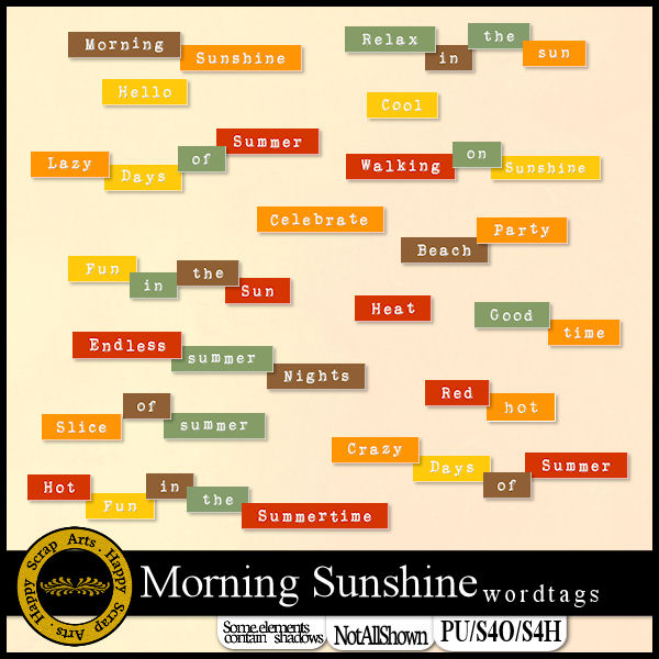 Aug.2016 - HSA_MorningSunshine_wordtags_pv