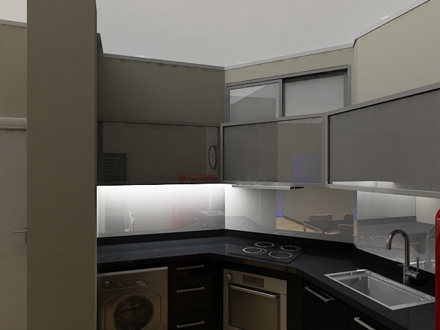 Dise o de interiores renders autocad 3d max planos for Diseno interiores 3d