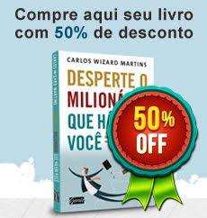 Livro de Carlos Wizard Martins