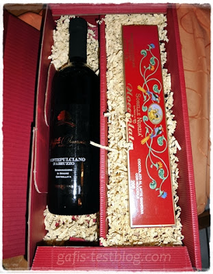 Wein und Schokolade