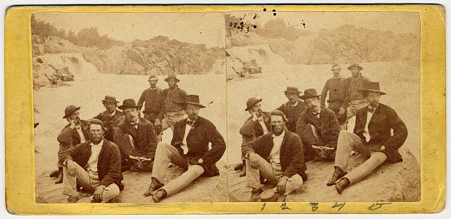 Secret Service agents, Whitehouse, Va.] approx. 1865