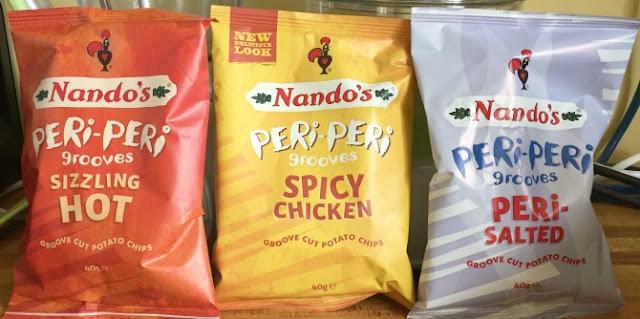 Nando's crisps