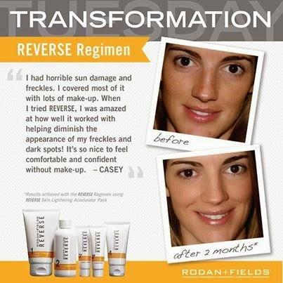 Reverse Regimen Results
